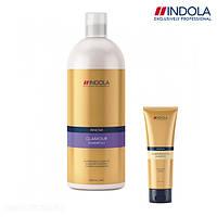 Шампунь для блеска волос Indola Innova Glamorous Oil
