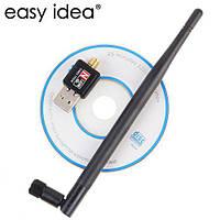 USB WIFI 150M 802.11n мини Wifi адаптер с антенной 5db NEW
