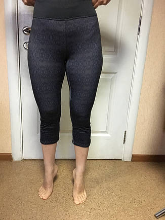 Женские утягивающие лосины для йоги,бега,спорта серые c&a , фото 2
