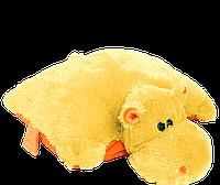 Подушка Бегемот 45 см медовый