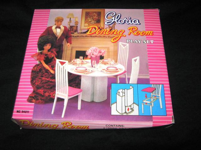 Кукольная мебель Глория Gloria 94011 Столовая, фото 1