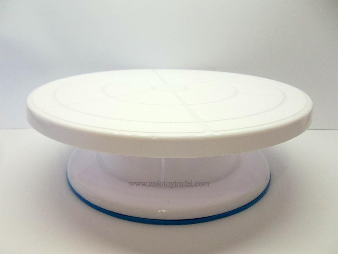 Подставка для торта пластиковая d 28 см h12 см