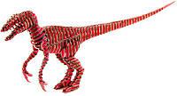 """3D пазл из гофрокартона D-torso """"Хищник"""", красный (4580238618827)"""