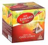 Чай  Sir edward black tea lemon 20 bags
