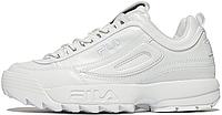 Женские кроссовки Fila Disruptor 2 White Фила Дизраптор 2 белые