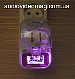 Універсальний зарядний пристрій (жабка) з індикатором заряду, фото 5