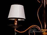 Недорога люстра з абажурами на 3 лампи 6226-3, фото 4