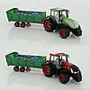 Трактор 0488-159-166 2 вида, с функциональным прицепом, в слюде