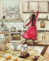 """Открытка """"Кухонная суета"""", фото 1"""