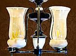 Винтажная люстра с плафонами 6080-6, фото 3