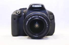 Б/у Зеркалка Canon 600d, efs 18-55 №5