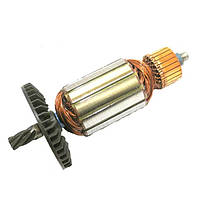 Якорь тст-н электропилы Тайга ПЦ-2400, Evrotec 2.4 кВт (46*166 мм, Z6 влево)