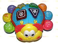 Добрый Жук. Игрушка для малышей.  логика, танцует, муз,  25-25-9 см