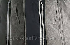 Штаны спортивные трикотажные 2 полосы, фото 2
