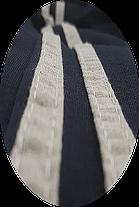 Штаны спортивные трикотажные 2 полосы, фото 3