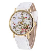 Часы женские наручные GENEVA белый ремешок