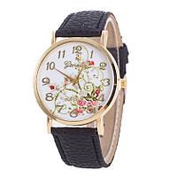 Часы женские наручные GENEVA черный ремешок
