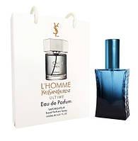 Мини парфюм Yves Saint Laurent L'Homme Ultime в подарочной упаковке 50 ml