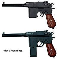 Детский игрушечный пистолет металлический J55  Маузер