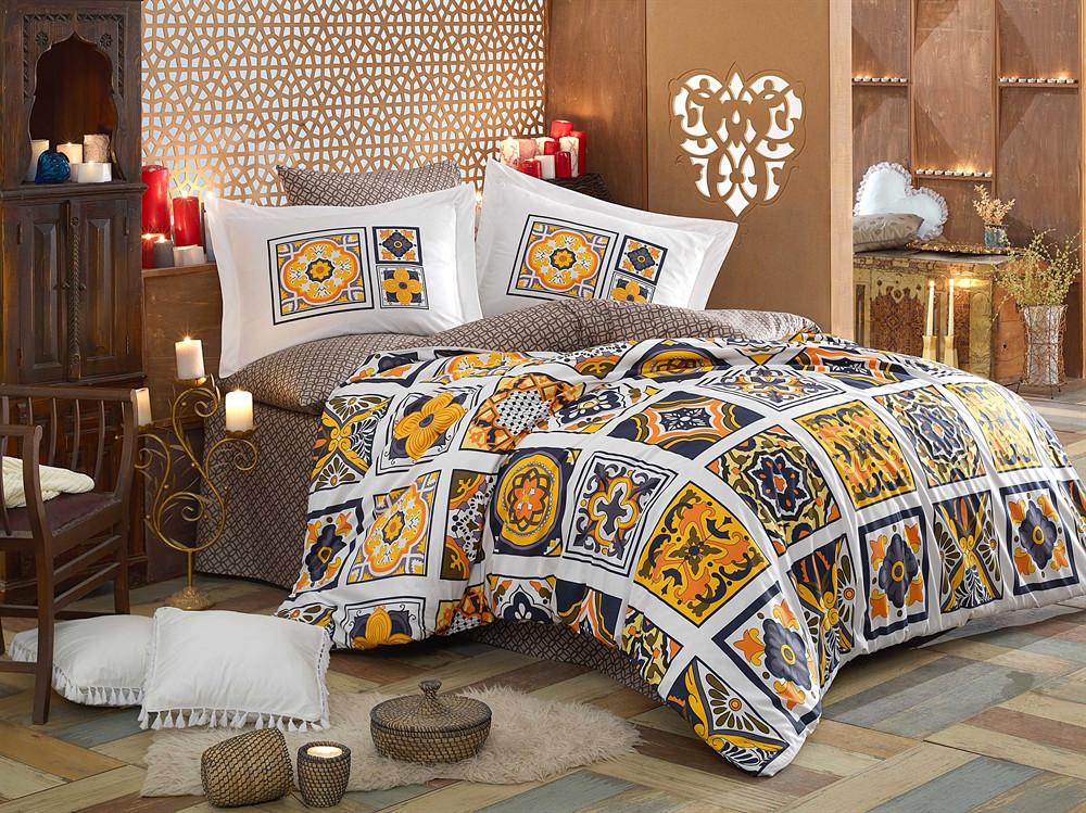 9f79f45adba9 Постельное белье HOBBY Poplin Mozaique желтое, цена 1 858 грн., купить в  Киеве — Prom.ua (ID#650227952)