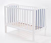 Кроватка Верес ЛД10 Соня маятник белый/серый