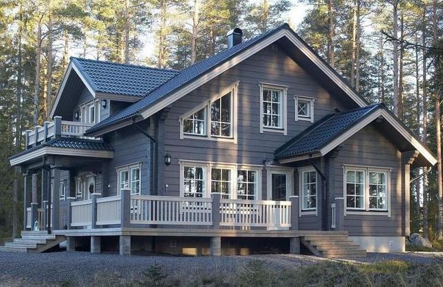 ЛКМ для фасадов деревянных домов