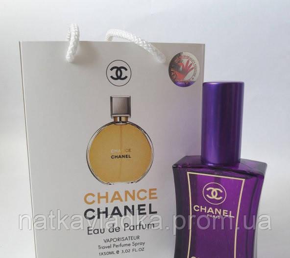 мини парфюм Chanel Chance Edp в подарочной упаковке 50 Ml продажа