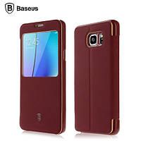 Чехол-книжка Baseus для Samsung Galaxy Note 5 SM-N920C бордовый