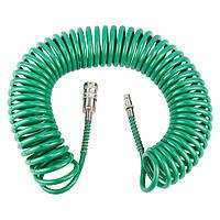 Шланг спиральный полиуретановый 10м 5.5×8мм Refine (7012071)