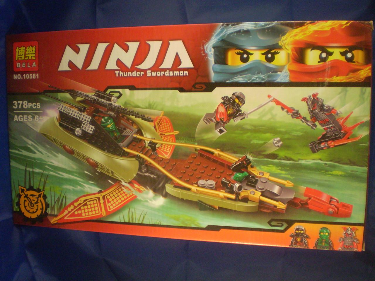 Конструктор Ninja Bela 10581