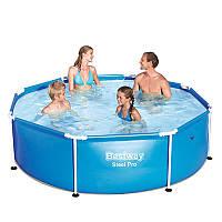 Круглый каркасный бассейн Bestway 244х61 см (56045)