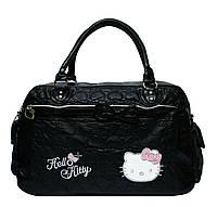 Детская дорожная сумка Hello Kitty. Самый необходимый аксессуар для поездок с детьми. Имеет одно вмес