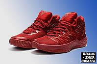 Кроссовки Jordan Melo M13 All Red женские (подростковые)