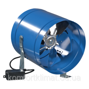 Вентилятор вытяжной ВКОМ 250, вентилятор осевой, Вентс