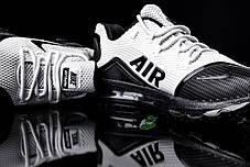 Мужские кроссовки Nike Air Max Elite - 2018 бело - черные топ реплика, фото 3