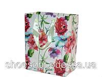 Подарочные пакеты Цветы 44х31х12 см микс, фото 1