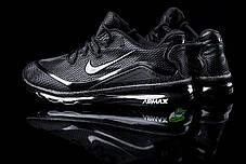 Мужские кроссовки Nike Air Max Elite - 2018 черные топ реплика, фото 3