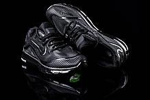 Мужские кроссовки Nike Air Max Elite - 2018 черные топ реплика, фото 2