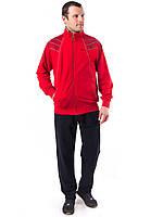 Мужской красный спортивный костюм трикотаж фабрика Турции т.м. PIYERA 7322