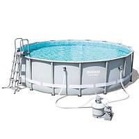 Круглый каркасный бассейн Bestway 488х122 см (56452)