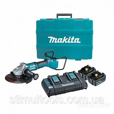 Аккумуляторная угловая шлифмашина (болгарка) Makita DGA900PT2