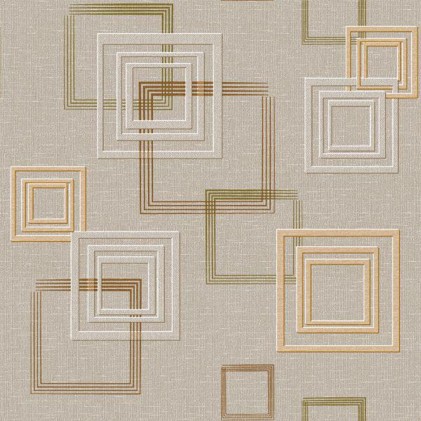 Обои бумажные Континент Джем коричневый 1257