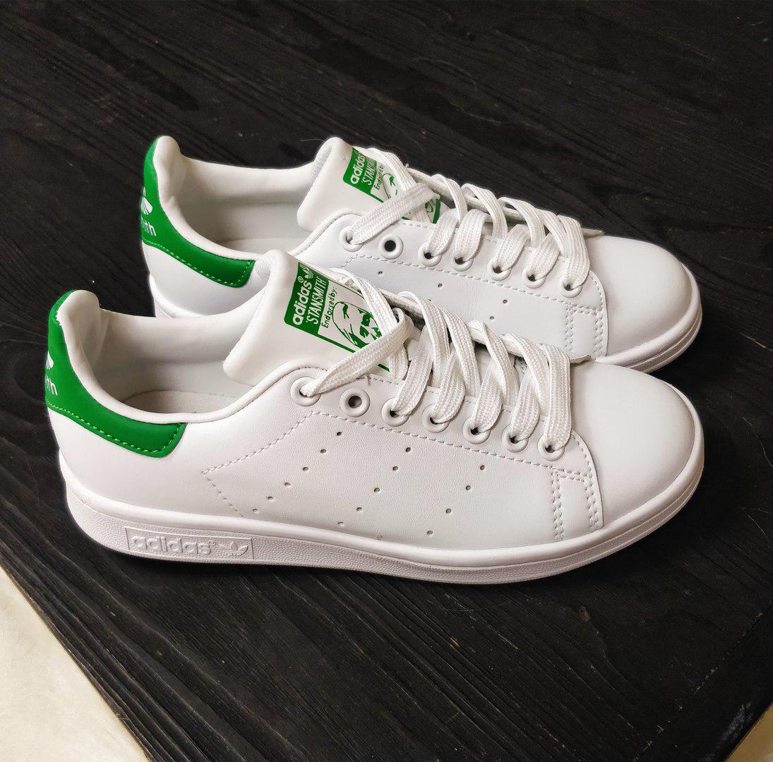 78ad63d4 Кроссовки Adidas Stan Smith white/green. Живое фото. Топ качество (Реплика  ААА+), цена 1 199 грн., купить в Киеве — Prom.ua (ID#512576330)