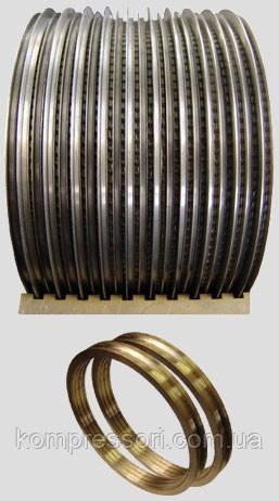 Лабиринтные уплотнения центробежного компрессора