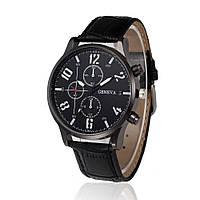 """Мужские наручные часы """"Geneva Luxury"""" черные"""