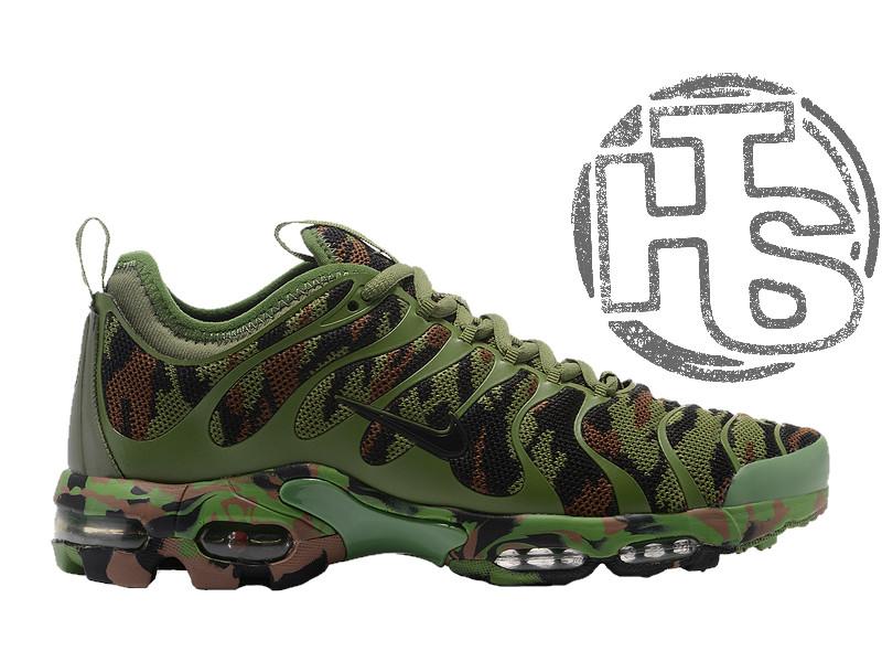 9292ffba Мужские кроссовки Nike Air Max Plus TN Ultra Army Green Camouflage 898015- 022 - Интернет