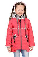 Детская демисезонная  куртка для  девочек Стейси