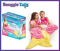 Плед в форме хвоста русалки Snuggie Tails для девочек.