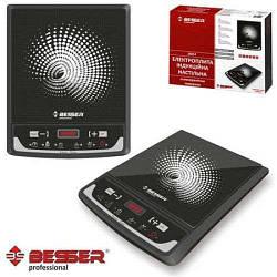 Электроплита индукционная плита Besser 2000Вт керамическая плита 10212