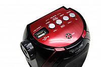 Радиоприемник с фонариком Golon RX-678 USB+SD, колонка радиоприемник golon, компактное радио для дома и дачи. Распродажа